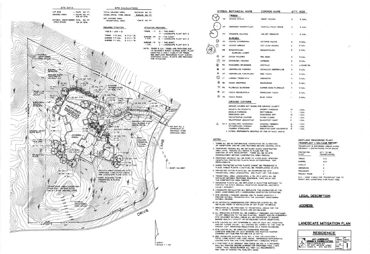 Construction Drawings - Jaz Landscape Design